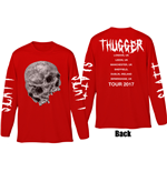 T-shirt Manches Longues Young Thug: Thugger Skull