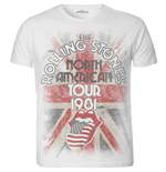 T-shirt The Rolling Stones pour homme: North American Tour 1981