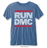 T-shirt Run DMC: Vintage Logo with Burn Out Finishing
