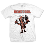 T-shirt Marvel Comics: Deadpool Cartoon Bullet