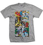 T-shirt Marvel Comics: Panels