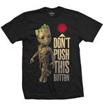 T-shirt Marvel Comics: Guardians of the Galaxy Vol. 2 - Groot & Button