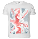 T-shirt David Bowie: Union Jack & Sax
