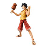 One Piece figurine Variable Action Heroes Monkey D Luffy Past Blue (Yellow Ver.) 17 cm