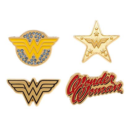 Épinglettes Wonder Woman