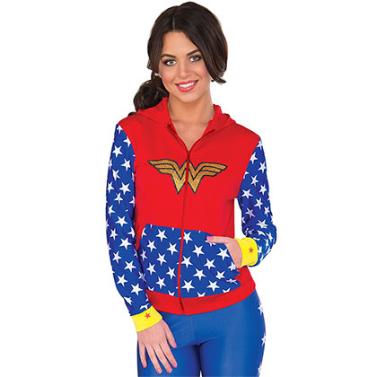 Sweat à Capuche Wonder Woman
