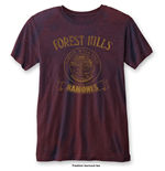 T-shirt Ramones: Forest Hills with Burn Out Finishing