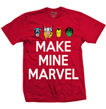 T-shirt Marvel Superheroes pour homme - Design: Make Mine