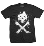 T-shirt Marvel Superheroes pour homme - Design: Captain America Civil War Crossbones Icon