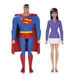 Superman, l'Ange de Metropolis pack 2 figurines Superman & Lois Lane 15 cm
