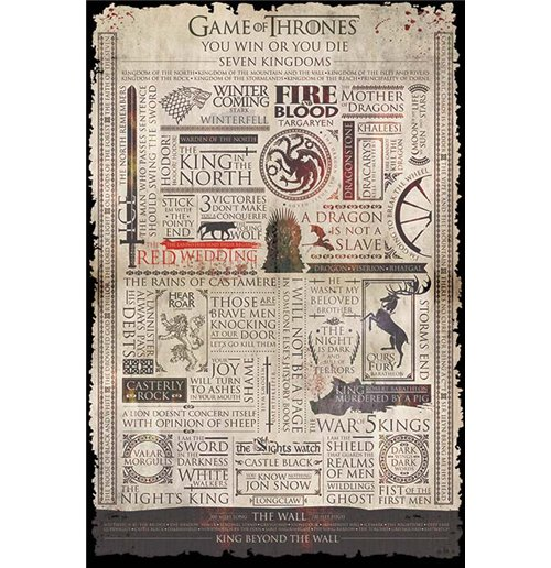 Poster Le Trône de fer (Game of Thrones) 274684