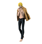 One Piece figurine Body Calender Vol. 2 Sanji Black Pants Version 17 cm