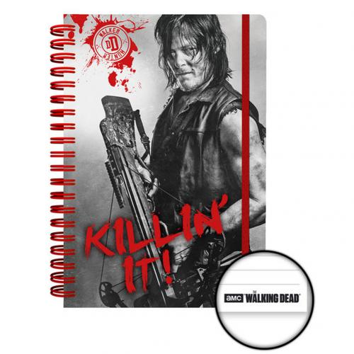 Cahier The Walking Dead - Daryl
