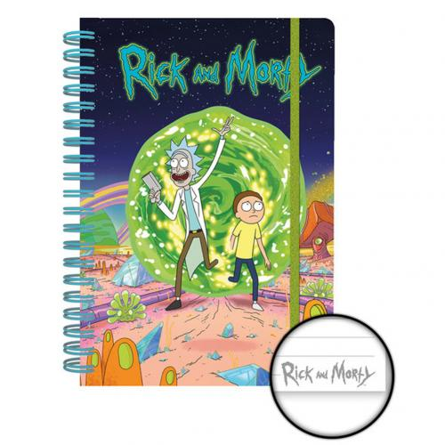 Cahier Rick and Morty 275733