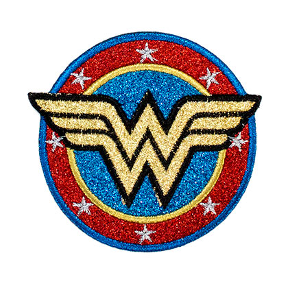 Écusson Wonder Woman - Gold Logo