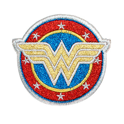 Écusson Wonder Woman - Silver Logo