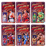 Street Fighter II ReAction Wave 1 assortiment figurines 10 cm (6)