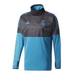 Veste Imperméable Real Madrid 2017-2018 (Noir)