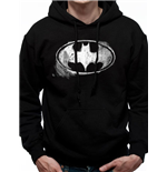 Sweat-shirt Batman - Design: Mono Distressed Logo