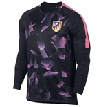 Maillot 2017/18 Atletico Madrid 2017-2018 (Noir)