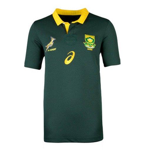 maillot de rugby afrique du sud springboks home 2017 2018 enfants pour seulement 65 86 sur. Black Bedroom Furniture Sets. Home Design Ideas