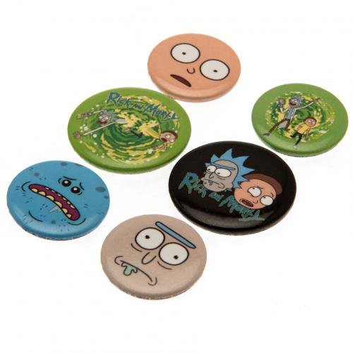 Set d'Épinglettes Rick and Morty