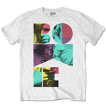 T-shirt David Bowie  pour homme - Design: Colour Sax