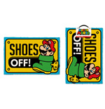 Super Mario paillasson Shoes Off 40 x 60 cm