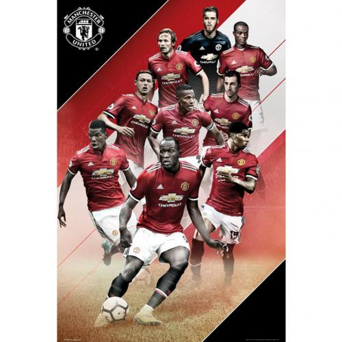 Poster Manchester United FC - Players
