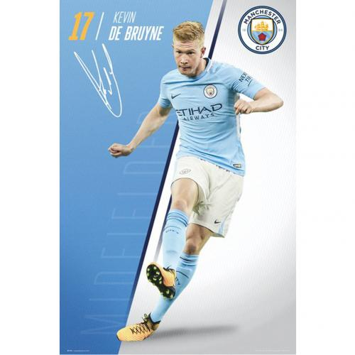 Poster Manchester City FC De Bruyne