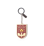 The Legend of Zelda porte-clés caoutchouc Hero's Shield 7 cm