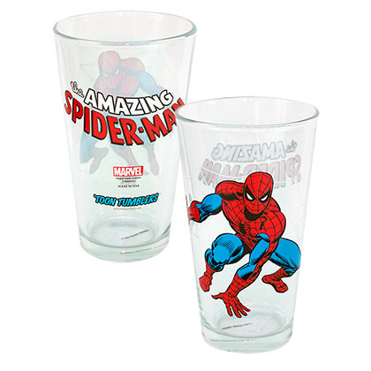 Verre Spiderman - Toon