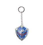 The Legend of Zelda porte-clés métal 3D Hylian Shield 7 cm