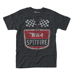 T-shirt BSA Motorcycles - Spitfire Flag