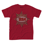 T-shirt Bsa GOLD STAR BADGE