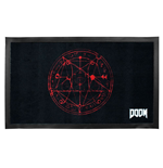 Doom paillasson Pentagram 44 x 75 cm
