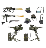 Alien accessoires pour figurines USCM Arsenal Weapons Accessory Pack