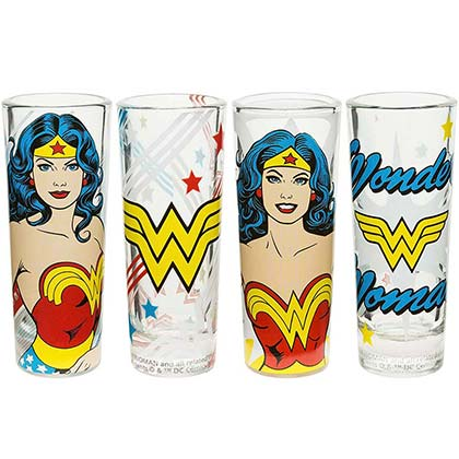 Verres à Shot Wonder Woman