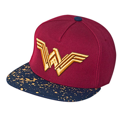 Casquette Wonder Woman - Metallic Logo