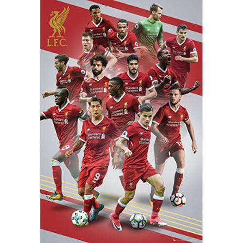 Poster Liverpool FC - Joueurs 16
