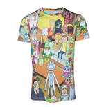 T-shirt Rick and Morty - Wasted