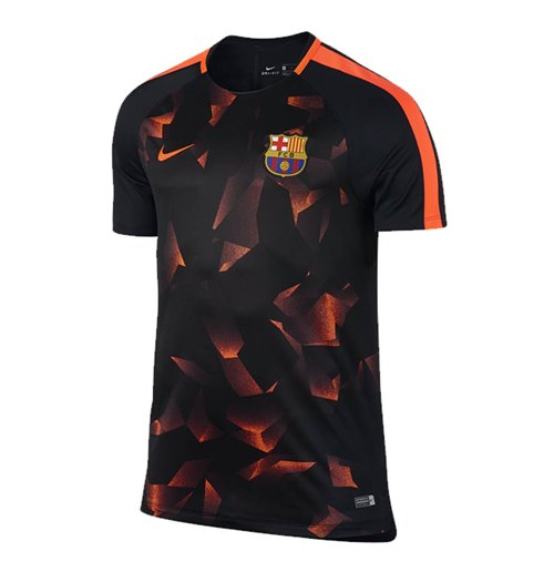 t shirt fc barcelone 2017 2018 pour seulement 63 00 sur merchandisingplaza. Black Bedroom Furniture Sets. Home Design Ideas