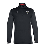 Sweat-shirt Pays de Galles rugby 2018-2019 (Noir)