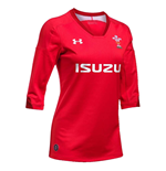 Maillot Pays de Galles rugby 2018-2019 Home (Rouge)