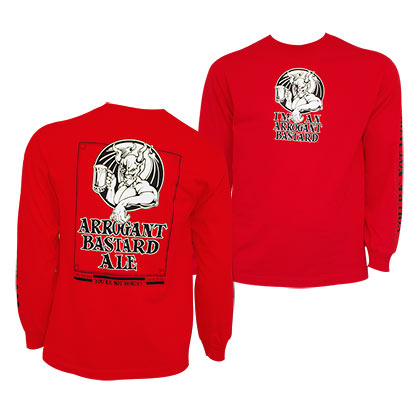 Sweat-shirt Arrogant Bastard Ale pour homme