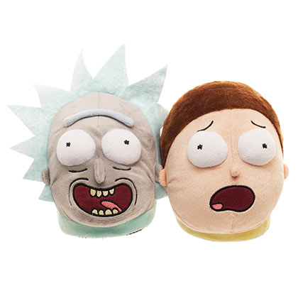 Pantoufles Screaming Rick and Morty