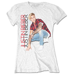 T-shirt Justin Bieber: Plaid