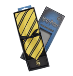 Harry Potter set cravate & badge Hufflepuff