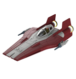 Star Wars pack maquette Build & Play sonore et lumineuse 1/44 Resistance A-Wing Fighter Red