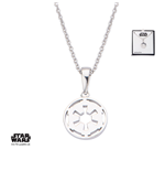 Star Wars collier argent Galactic Empire Symbol 46 cm